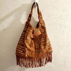 Sam Edelman suede hobo purse